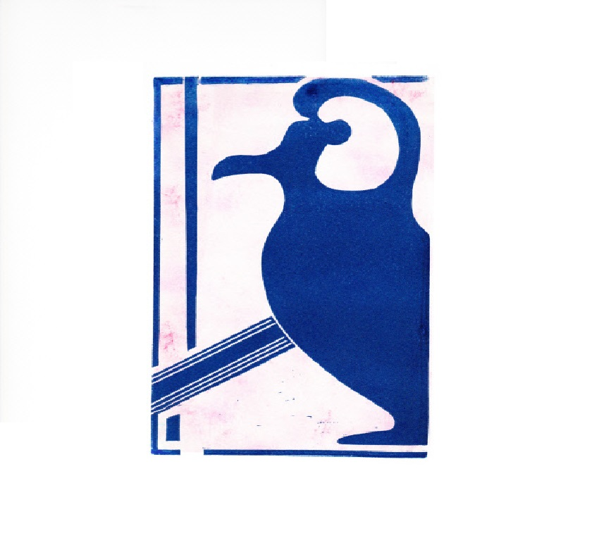 Artwork - Sicilian Vessel linocut Print | Jacki Baxter - linocut