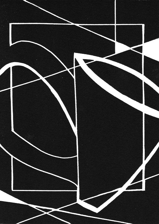 Artwork - Displacement linocut Print | Jacki Baxter - linocut