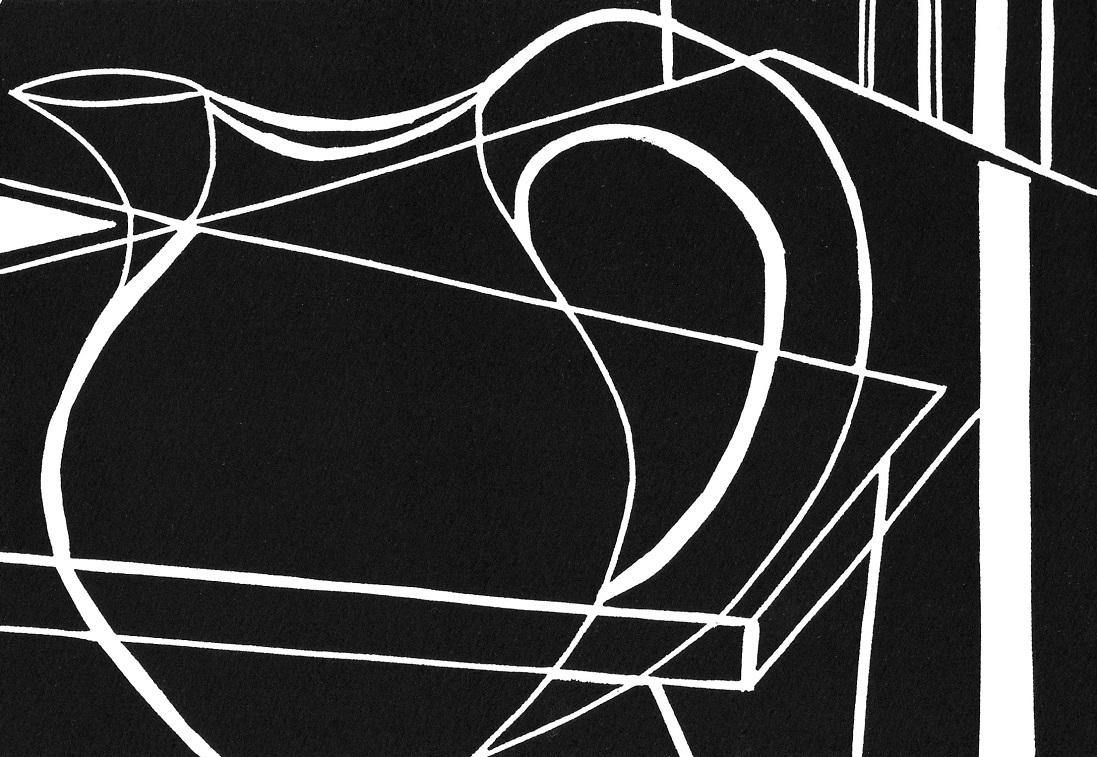 Artwork - Equilibrium linocut Print | Jacki Baxter - linocut
